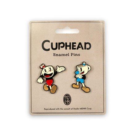 Cuphead & Mugman Pin Set | Official Cuphead Collectible Enamel Pins | Set of 2 - image 1 of 1
