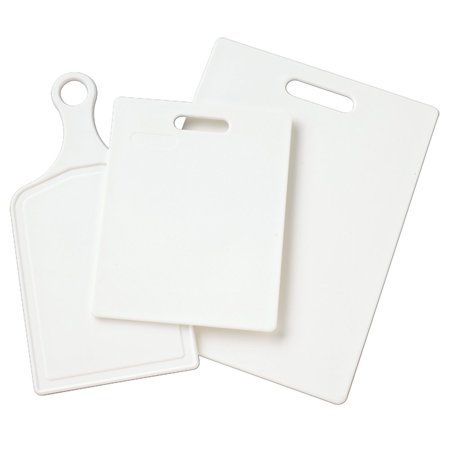 Farberware Three-Piece Essential Poly Cutting Board Set