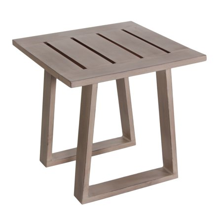 Teva Patio Aruba Aluminum Patio End Table