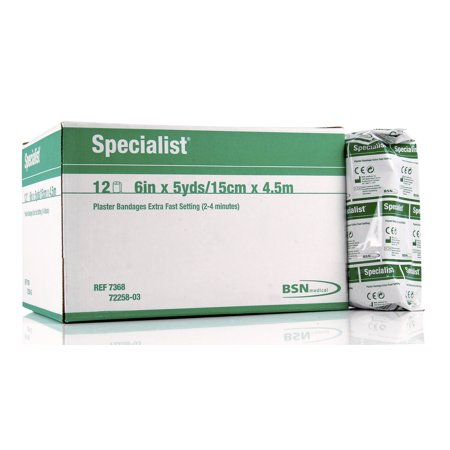 BSN 7368 Specialist Plaster Bandages Extra Fast 6