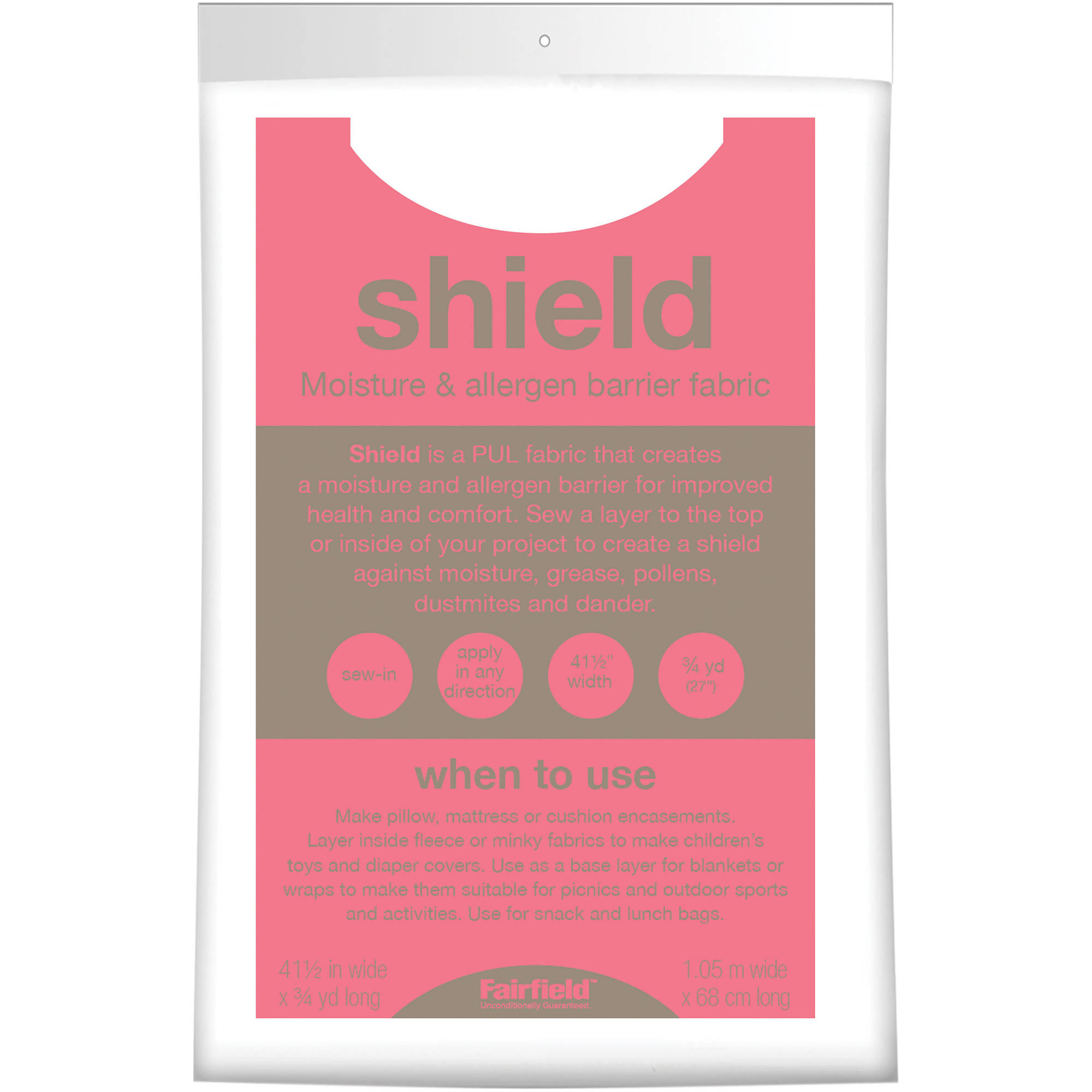 Shield Liner Fabric Craft Pack