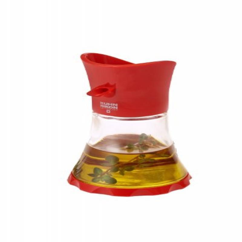 Kuhn Rikon Vase Oil/Vinegar Cruet, Red