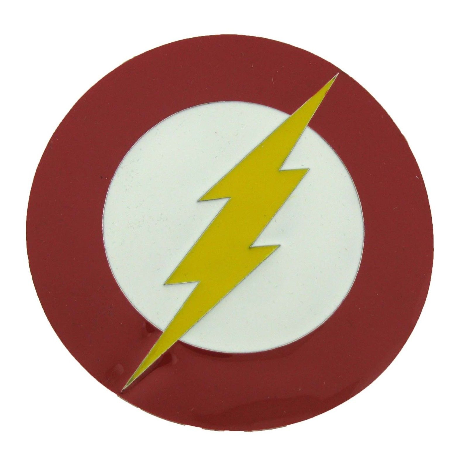 The Flash Belt Buckle Lighting Bolt Halloween Costume Metal Fashion Gift New DC