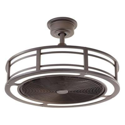 Brette Indoor/Outdoor Ceiling Fan with Two 23W LED Light Strips ...