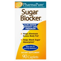 PharmaPure Sugar Blocker Weight Loss Supplement, 90 Capsules