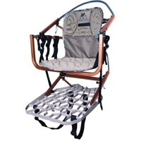 Lone Wolf Treestands Wide Sit and Climb II Combo Molded Seat, Quiet, Mobile Hunting, Outdoor