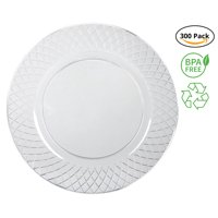 """Party Joy ™ 300-Piece Plastic Plate Set 
