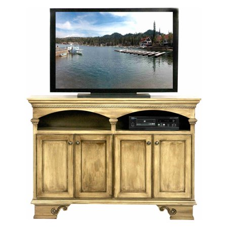 Eagle Furniture American Premiere 58 In  Entertainment Console With 4 Doors