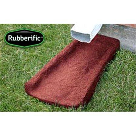 International Mulch Rubberific Brown Splash Block, 4 Pack -  LRSBBN4