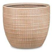 Scheurich USA 256514 4.75 x 5.5 in. Ceramic Indoor Planter, Canela Tan - Pack of 5