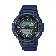 Casio Fishing Timer and Moon Graph Analog-Digital Watch, Blue