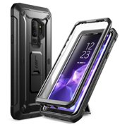Samsung Galaxy S9 Plus Case, SUPCASE Kickstand Rugged Case with Built-in Screen Protector Shockproof Cover for Samsung Galaxy S9 Plus 6.2 inch 2018 Release (Black)