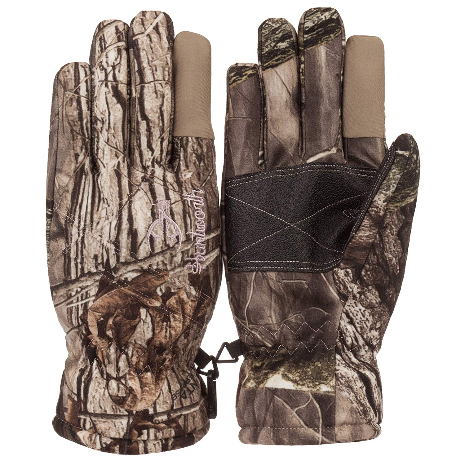 Women's Insulated Classic Cold Weather Camo Ladies Hunting Glove (Medium)