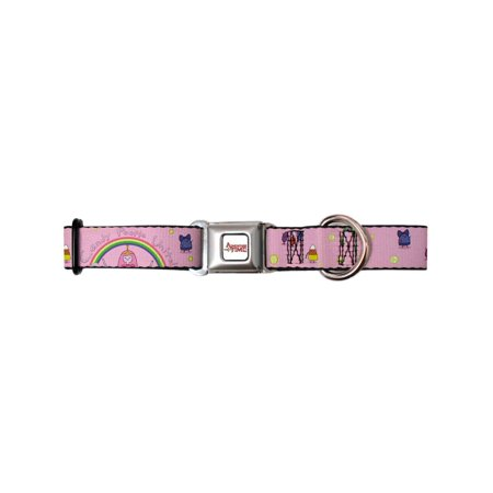 Dog Collar ATA-Adventure Time Logo White - Princess Bubblegum - CANDY Pet Collar