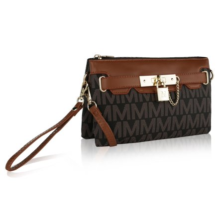 "MKF Collection by Mia K. Farrow Carissa ""M"" Signature Cross Body Wristlet"