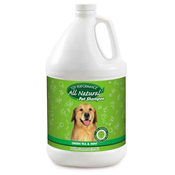 Green Tea & Mint Dog Pet Grooming Shampoo Natural Scented Refreshing Choose Size (Gallon)