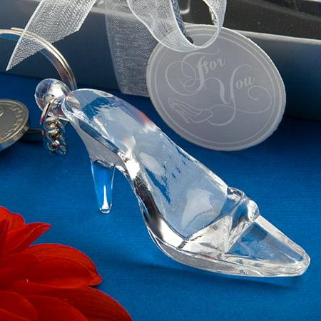 72 Cinderella Shoe/Glass Slipper Keychain Favor