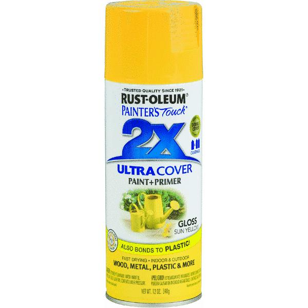 RustOleum Painter's Touch 2X Ultra Cover Paint + Primer Spray Paint