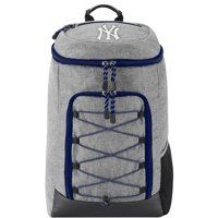 """MLB New York Yankees """"Competitor"""" Top-Loader Backpack, 19"""" x 7"""" x 12"""" - Heathered Grey"""