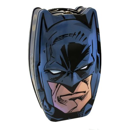 Tin Box Company Batman Head  Metal/Wire Box