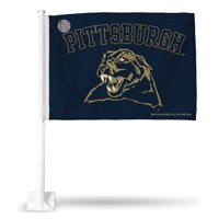 Pittsburgh Panthers NCAA 11X14 Window Mount 2-Sided Car Flag