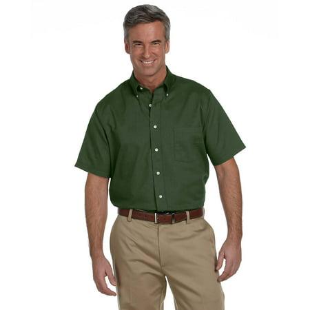 - Van Heusen Button Up Shirt 56850 Men's Short Sleeve No Wrinkle
