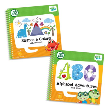 LeapFrog LeapStart Level 1 Preschool Activity Book Bundle - Winter Preschool Crafts