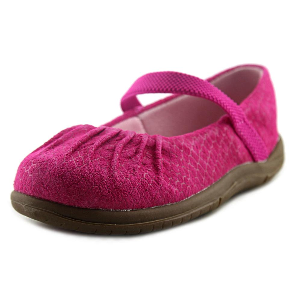 Stride Rite Cassie Toddler W Round Toe Leather Pink Mary Janes