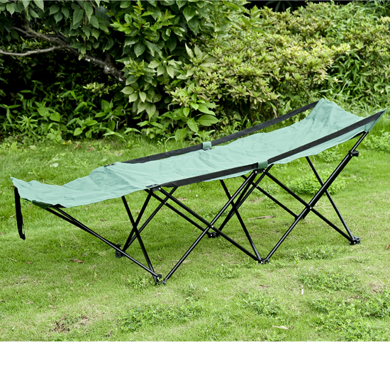 Outsunny Deluxe Folding Camping Cot by Aosom