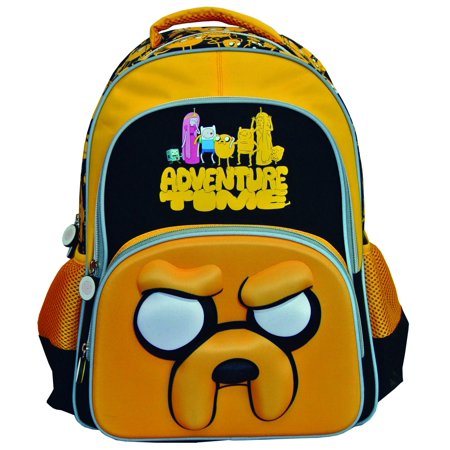 Adventure Time Jake the Dog Backpack - Jake And The Neverland Pirates Backpack