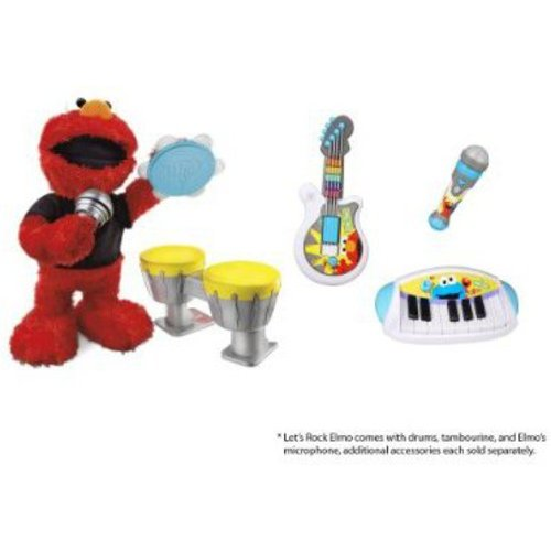 Sesame Street Playskool Let's Rock Cookie Monster Keyboard