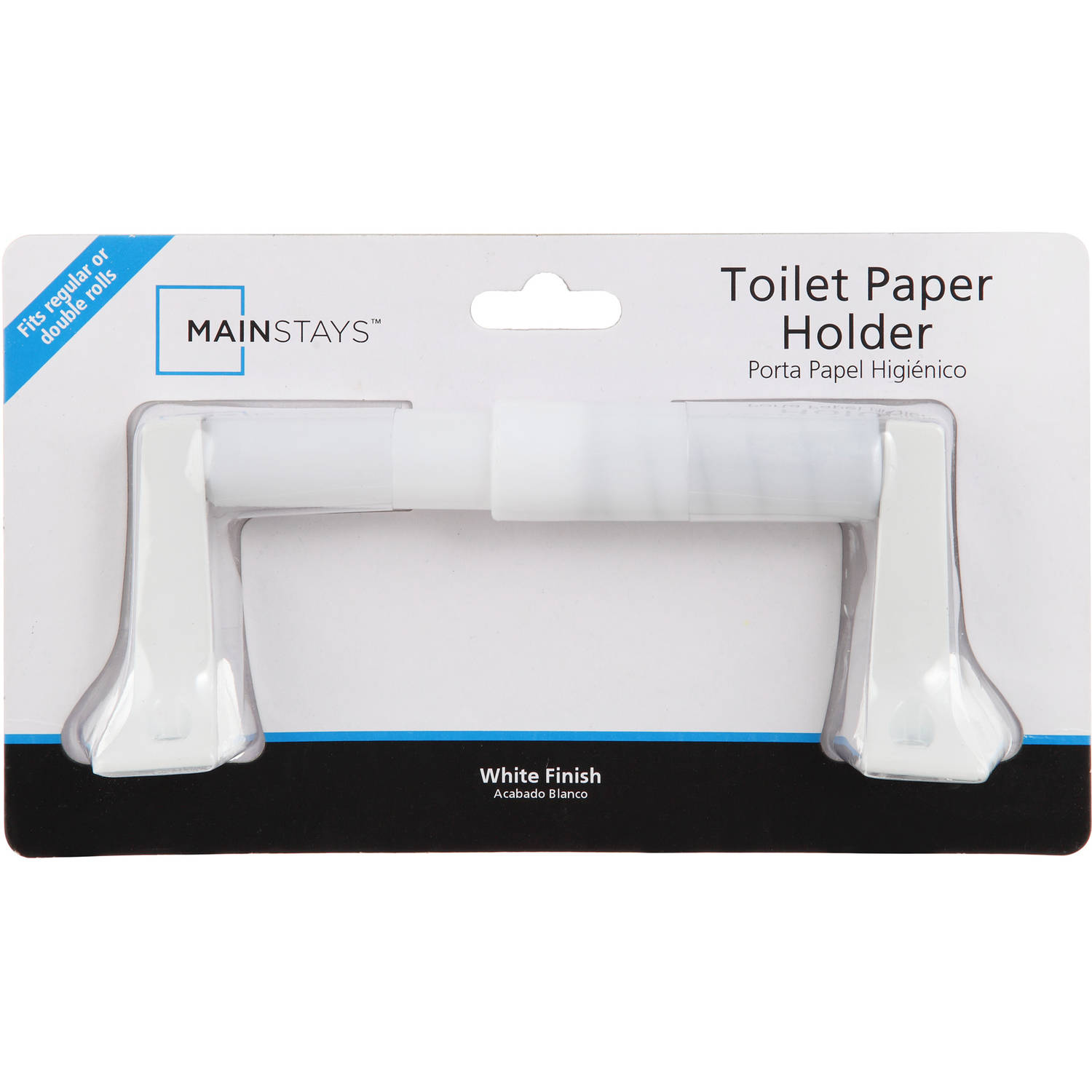 Mainstays Square Tissue Holder, White
