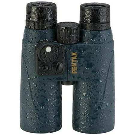 Pentax 7x50 Marine Roof Prism Waterproof Binocular, Matte w/Case & Strap -
