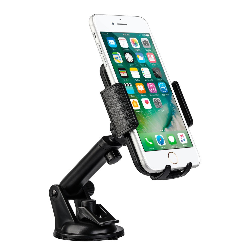 Universal Dashboard/ Windshield Cell Phone Car Mount Phone Holder With Adjustable Extension Arm