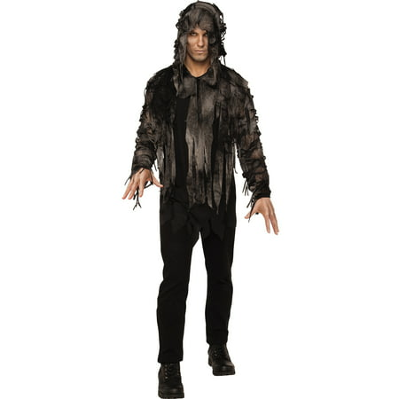 Zombie Burlesque Halloween (Ghoul Zombie Swamp Monster Demon Adult Men Halloween)