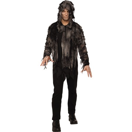 Ghoul Zombie Swamp Monster Demon Adult Men Halloween Costume](Halloween Swamp)