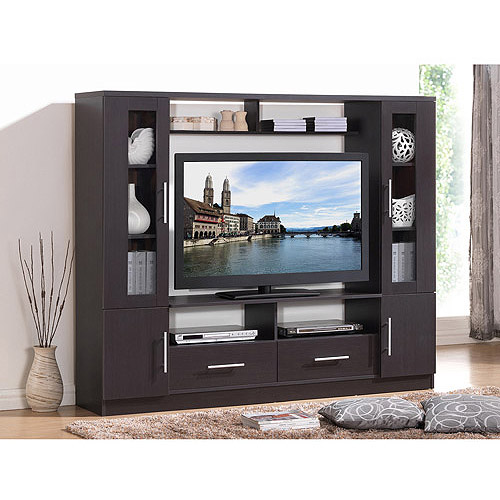 Techni Mobili Atlantis Espresso Home Entertainment Center for TVs up to 50""