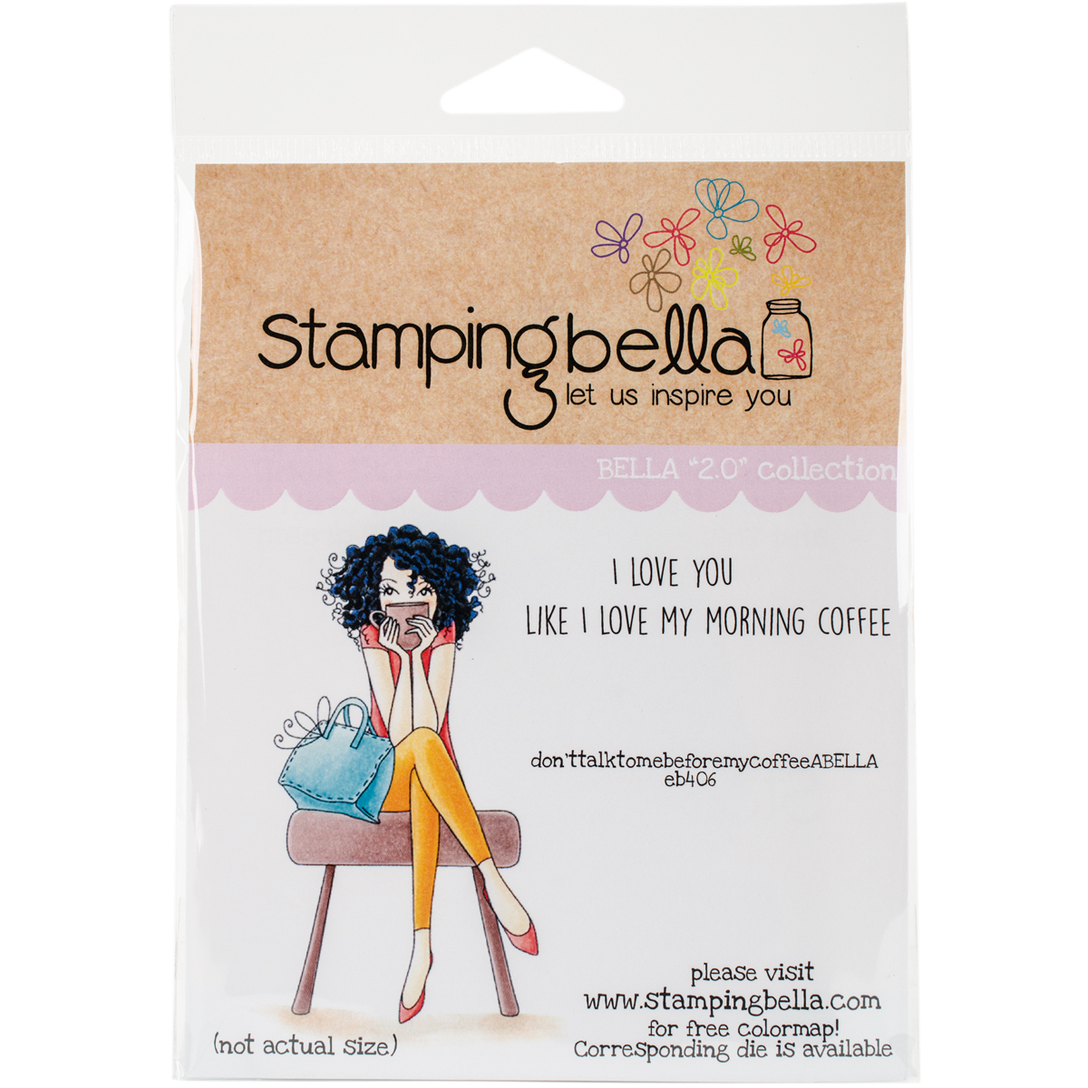 Stamping Bella Cling Stamps-Donttalktomebeforemycoffeeabella