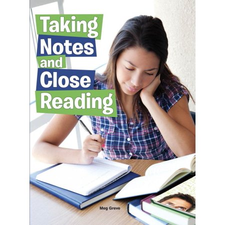 (Taking Notes and Close Reading)