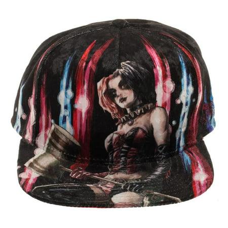 timeless design 789be 492e0 Harley Quinn - Baseball Cap - DC Comics - Harley Quinn Velvet Snapback New  sb5w88btm - Walmart.com