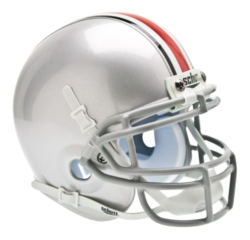 Shutt Sports NCAA Mini Helmet, Ohio State Buckeye