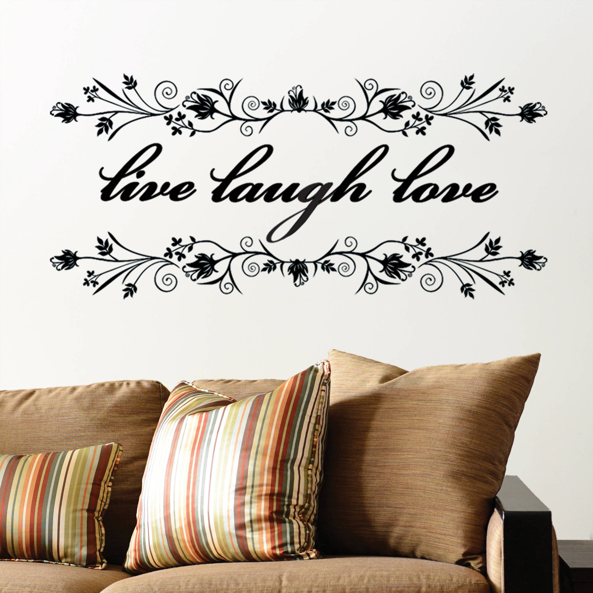DCWV Vinyl Live Laugh Love Wall Decal