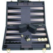 """Classic Games Collection 15"""" Attache Backgammon Set"""