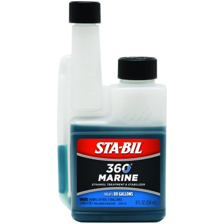 STA-BIL (22239) 360 Marine Ethanol Treatment and Fuel Stabilizer, 8