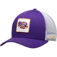 LSU Tigers Nike Classic 99 Alternate Logo Trucker Adjustable Snapback Hat - Purple - OSFA