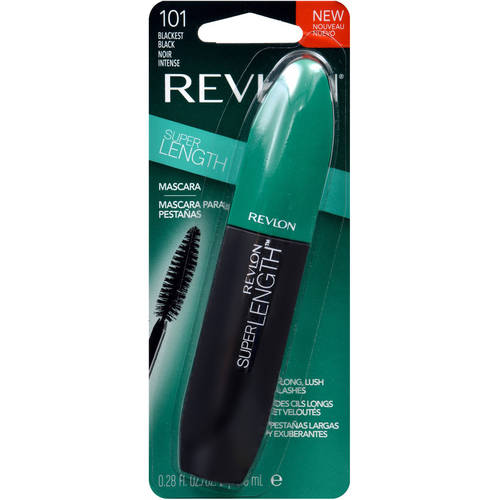 Revlon super length mascara, 0.28 fl oz, blackest black