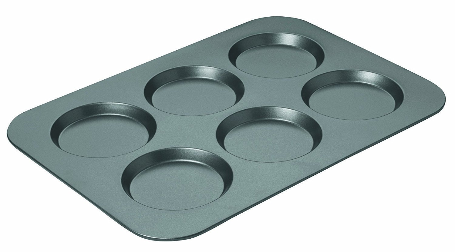 The Muffin Top Pan from Walmart makes baking perfect unison muffin tops easy every time!