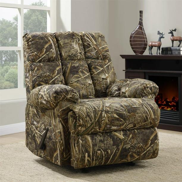 Dorel Living Realtree Camouflage Rocker, Camo Furniture Covers