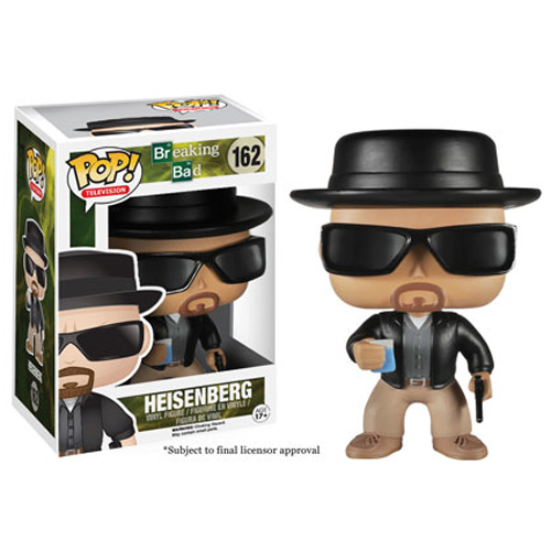 Funko POP! Television - Breaking Bad Vinyl Figure - HEISENBERG (Walter White)