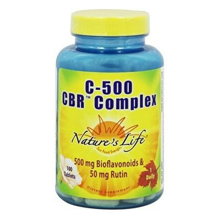 Natures Life - Vit C + Bioflavonoids + Rutin Chelated, Tablet (Btl-Plastic) 500mg